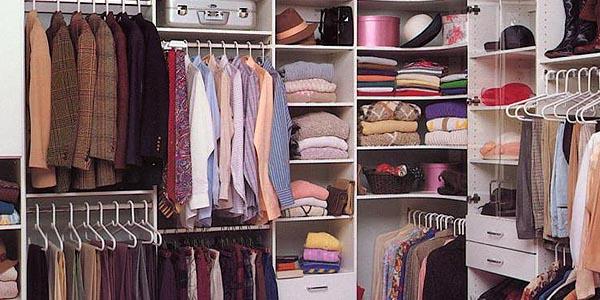 memilih tempat penyimpanan pakaian yang tepat